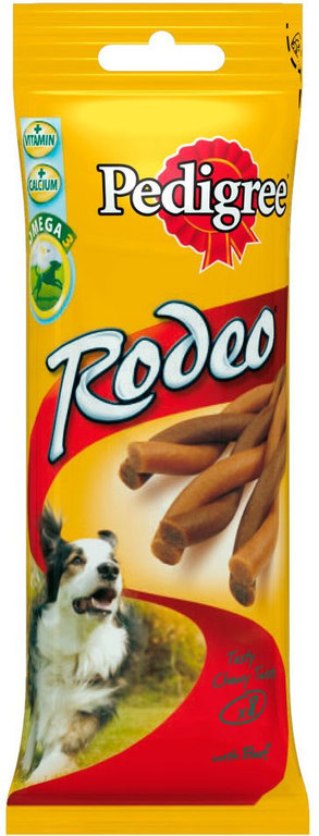 Pedigree Rodeo Μοσχάρι 70gr