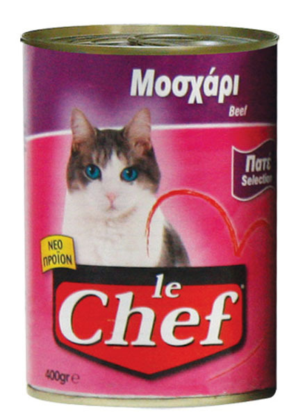 Le chef pate 415gr Μοσχάρι