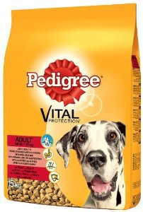 Pedigree Vital Large Dogs 15kg Μοσχάρι