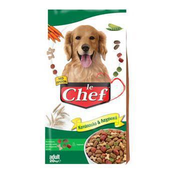 Le Chef Κοτόπουλο & Λαχανικά 20kg