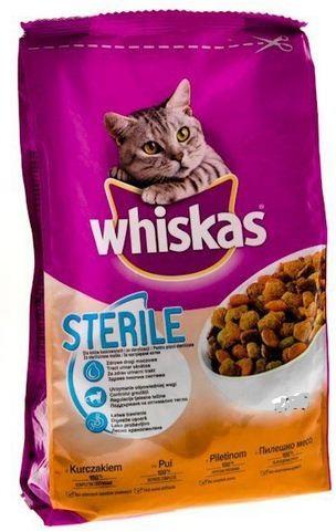 Whiskas Sterile Κοτόπουλο 14Kg