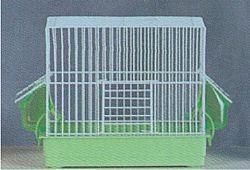 Κλουβί Πουλιών Τετράγωνο Λευκό 29*18,5*24