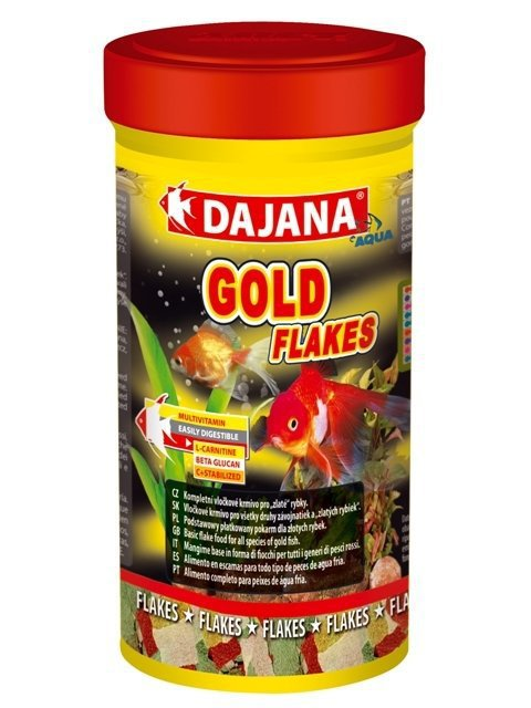 DAJANA GOLD FLAKES 100gr/500ml