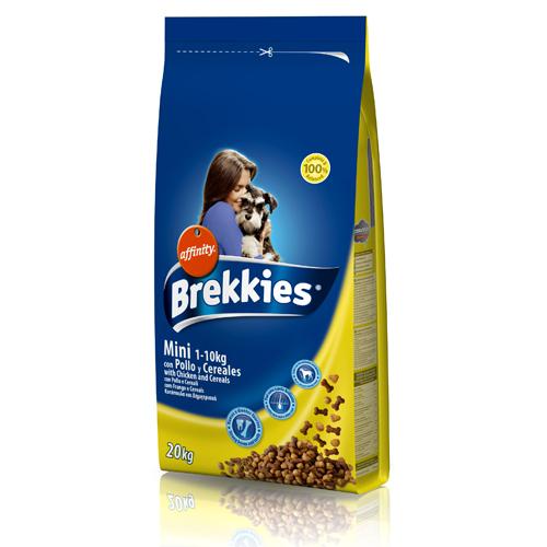 Brekkies mini κοτόπουλο & δημητριακά 4kg