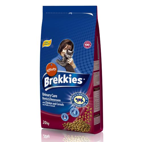 Βriekkies Urinary Care με Κοτόπουλο & Δημητριακά 20kg