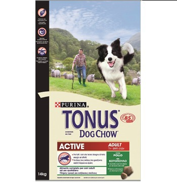 Tonus Adult Active Κοτόπουλο 14kg