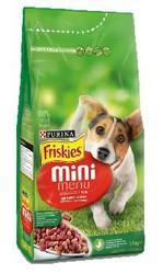 Friskies Mini Menu 1,5kg με βοδινό & Λαχανικά 1,5kg