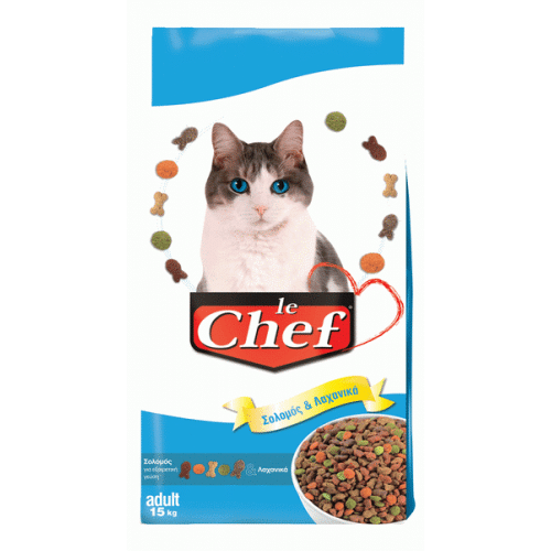 Le Chef Σολομός & Λαχανικά 15kg