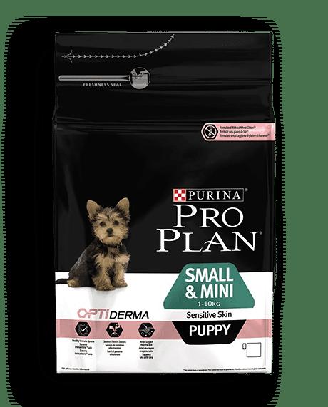 Pro Plan Puppy Small &Mini Sensitive Skin Σολομός 0,7kg