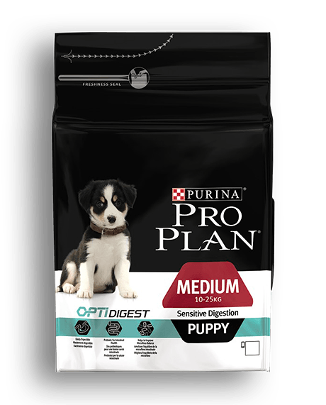 Pro Plan Puppy Medium Sensitive Digestion Κοτόπουλο 3kg