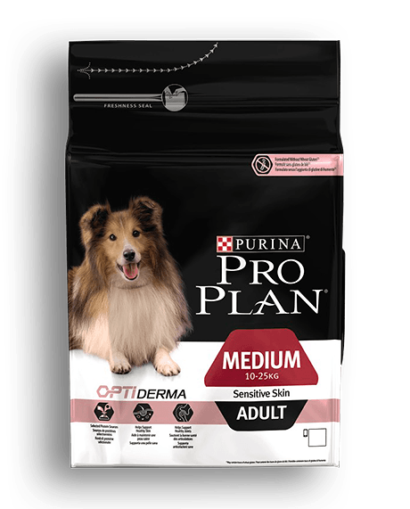 Pro Plan Adult Medium Sensitive Skin Σολομός 14kg