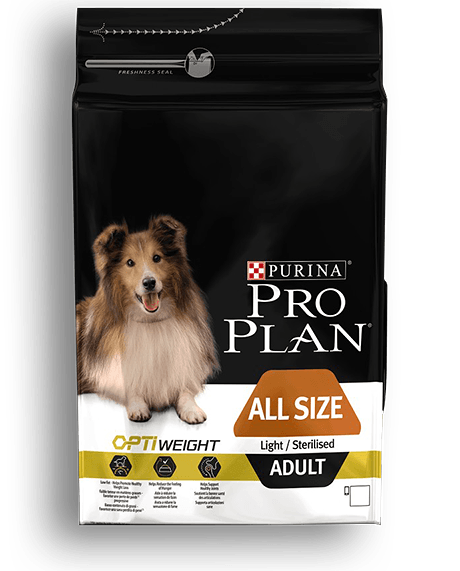 Pro Plan Adult All sizes Light/Sterilized Κοτόπουλο 3kg
