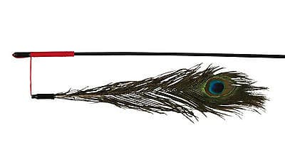 Trixie-Playing-Rod-With-Peacock-Feather-47cm-TX4509